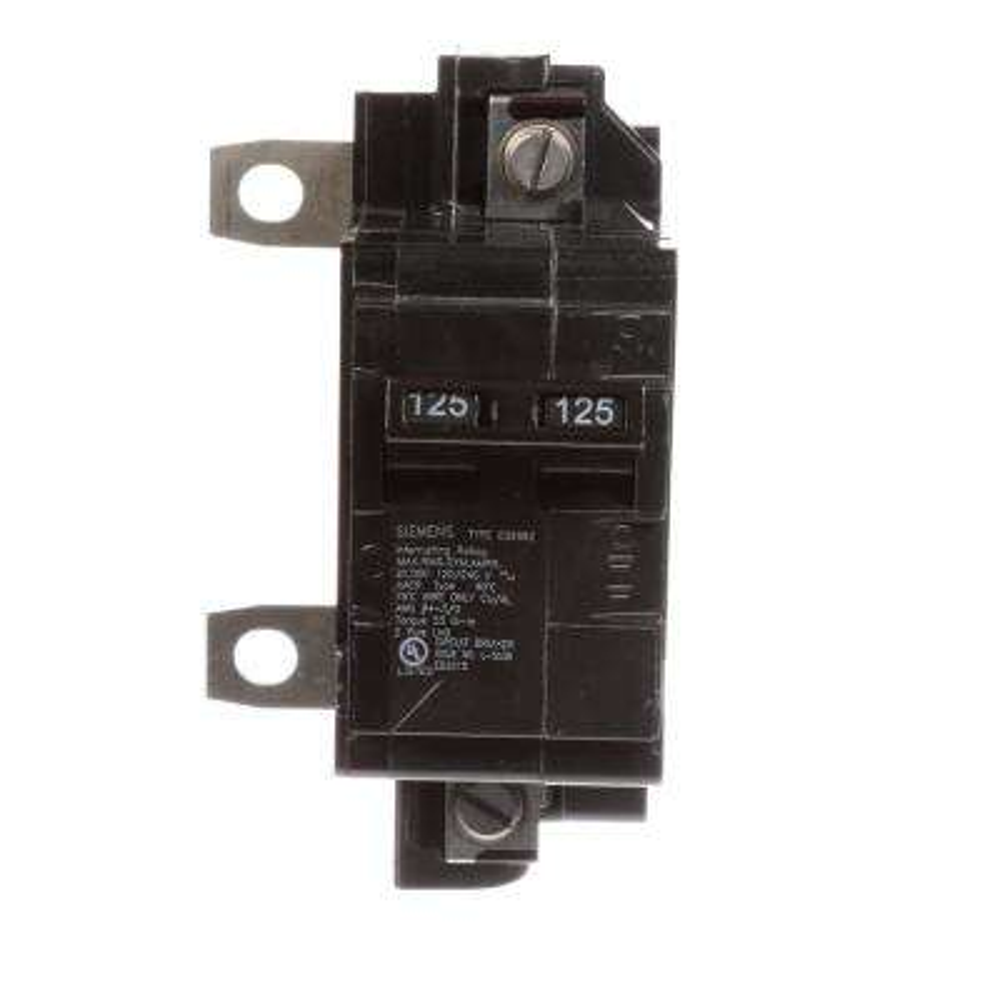 125 Amp Main Breaker Conversion Kit