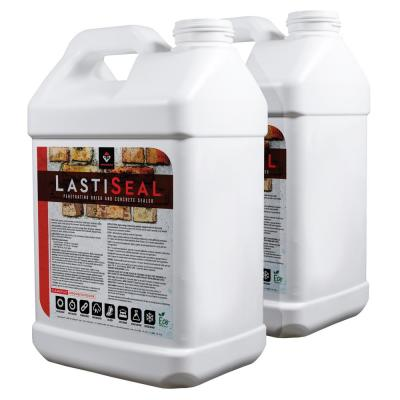 The Cement Store 5 Gal Porous Concrete And Masonry Water Repellent Penetrating Sealer Blue Label Cure Seal The Home Depot