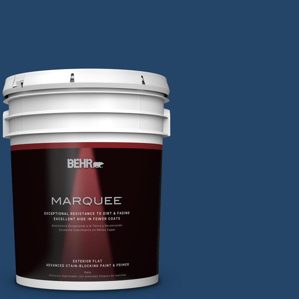 BEHR MARQUEE 5-gal. #PPF-57 Lake View Flat Exterior Paint