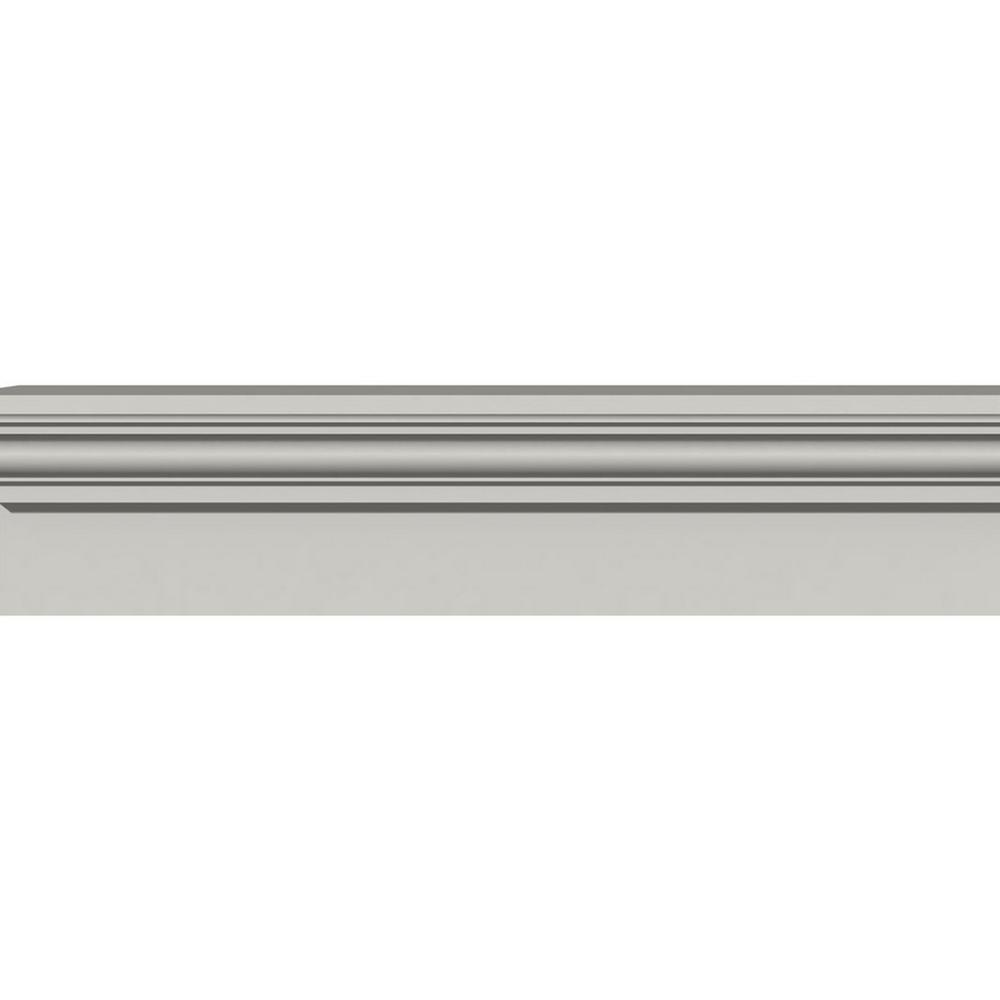Ekena Millwork 4-1/4 in. x 9 in. x 96 in. Polyurethane Traditional Fascia Header Moulding