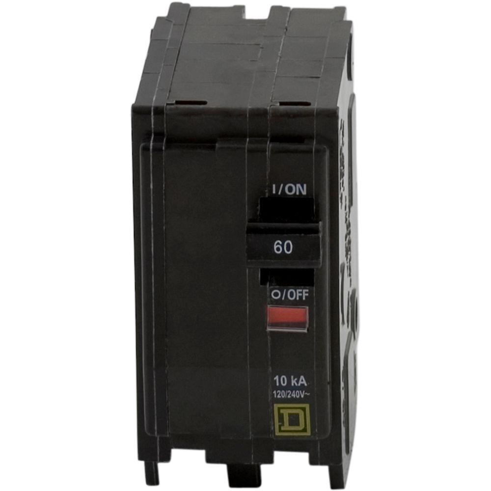 QO 60 Amp 2-Pole Circuit Breaker