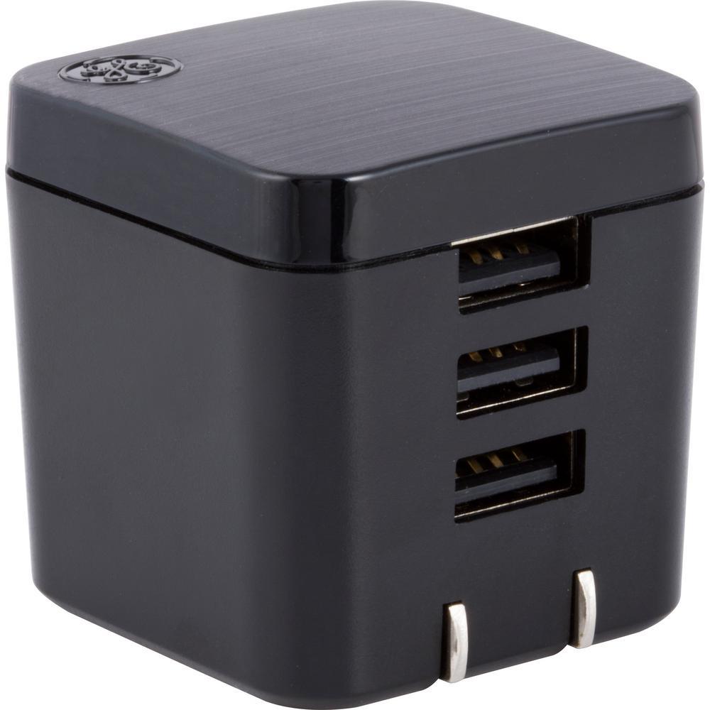 3-USB 3.4 Amp 17-Watt Pro UltraCharge Wall Charger