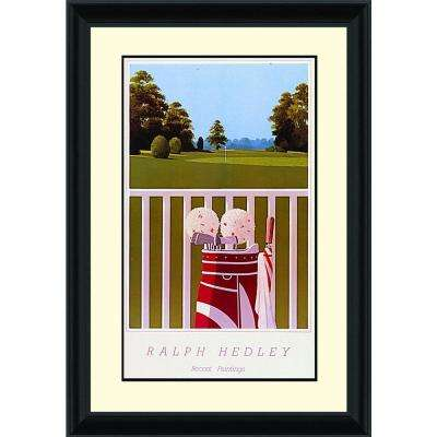 25.25.in x 18.75.in''View From The Porch'' By PTM Images Framed Printed Wall Art