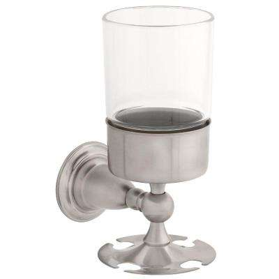 Victorian Wall-Mounted Toothbrush Holder in Brilliance Stainless
