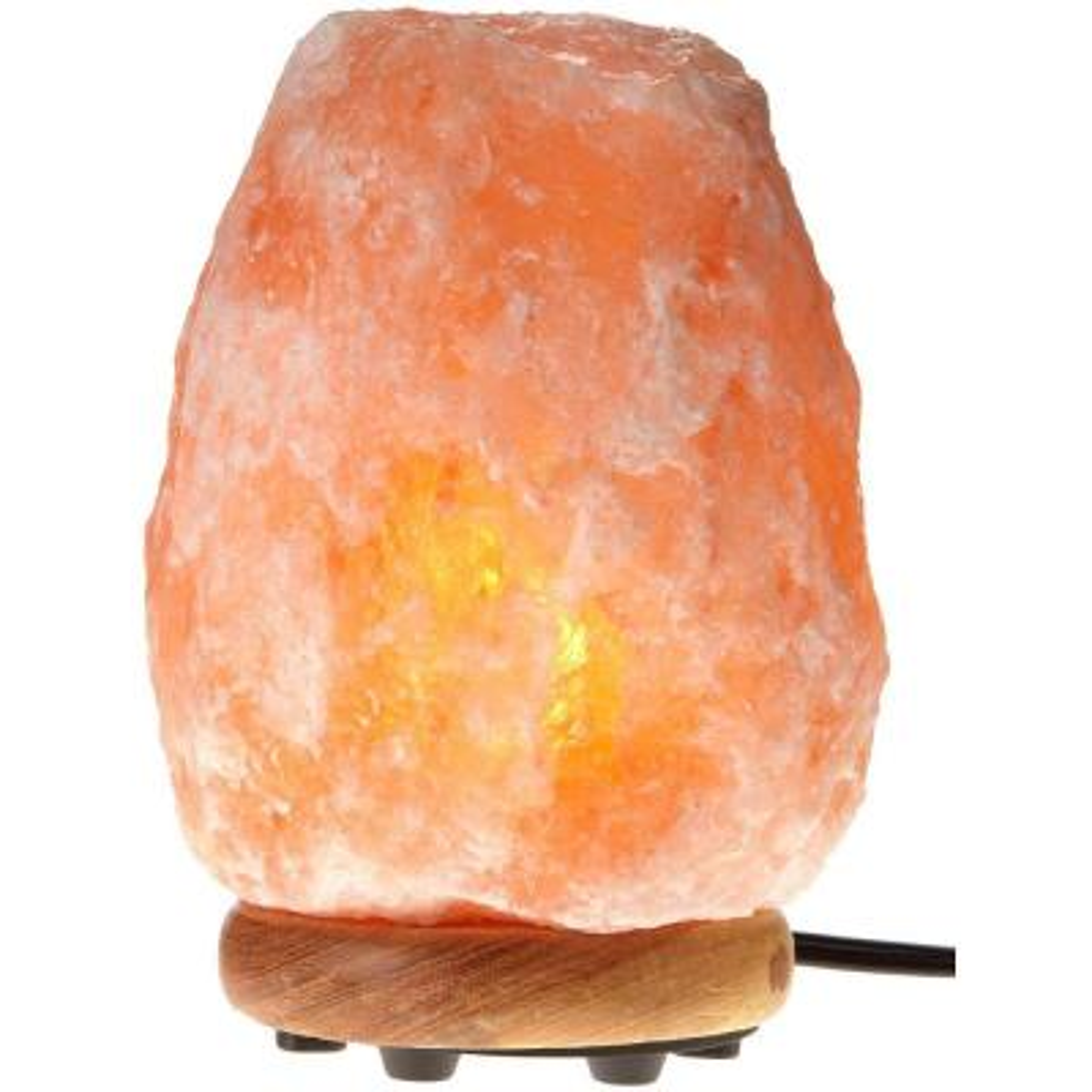 13.25 in. Natural Crystal Salt Lamp