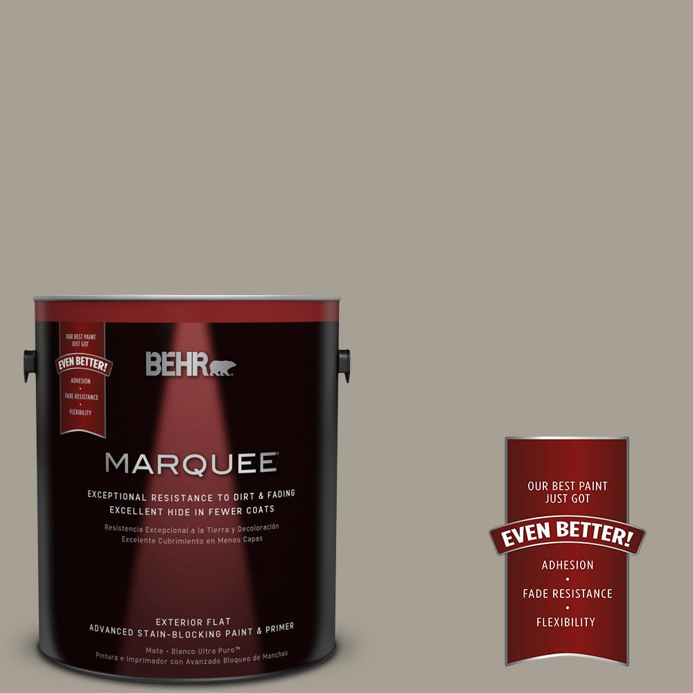 BEHR MARQUEE 1-gal. #T12-12 Jackal Flat Exterior Paint