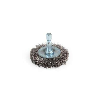 2 in. Circular Coarse Wire Brush