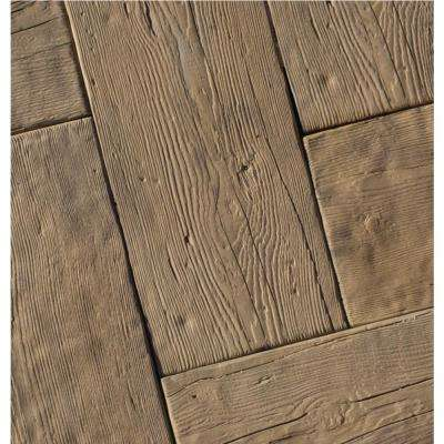 23.375 in. L x 9.75 in. W x 2 in. H Barn Plank in Cedar Concrete Paver (20-Pieces/31.8 Sq.ft./Pallet)