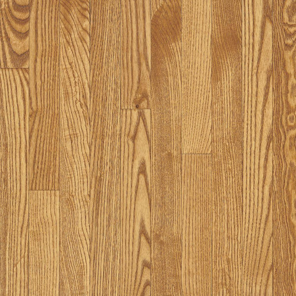 Bruce Oak Seashell 3/4 in. Thick x 3-1/4 in. Wide x 84 in. Length Solid Hardwood Flooring (22 sq. ft. / case)