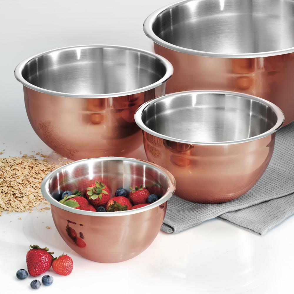 Limited Editions 8 Qt. Copper Clad Mixing Bowl