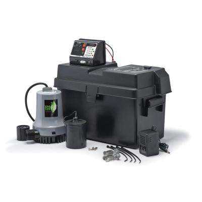 1/4 HP Battery Backup Sump System