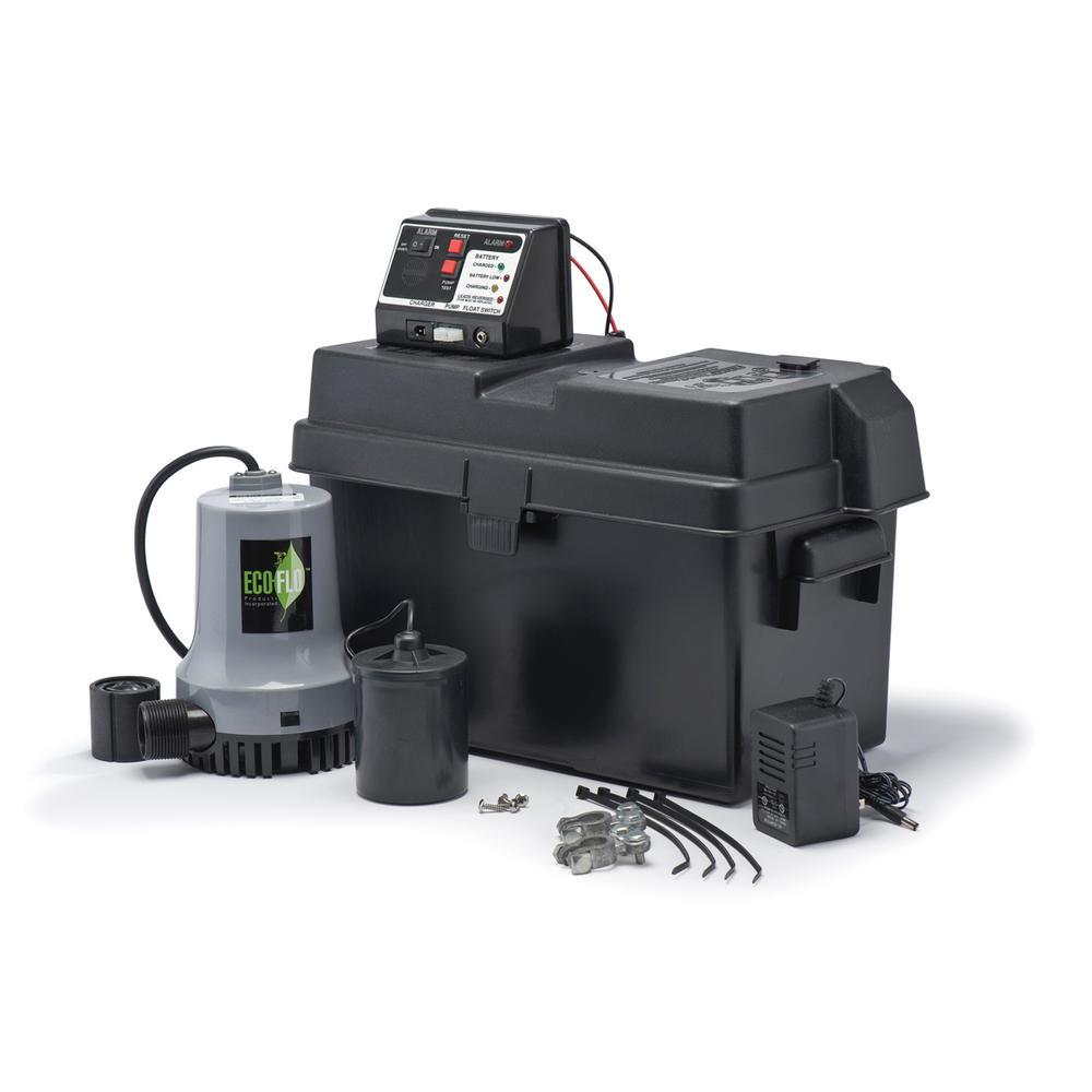 1/4 HP Battery Backup Sump System