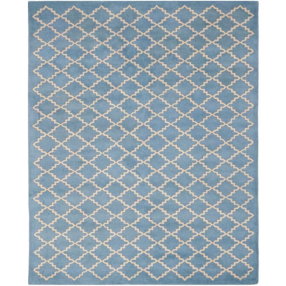 Safavieh Chatham Blue/Grey 8 ft. 9 in. x 12 ft. Area Rug