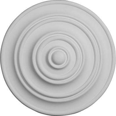13-1/4 in. OD x 1/2 in. P (Fits Canopies up to 4-1/8 in.) Classic Ceiling Medallion