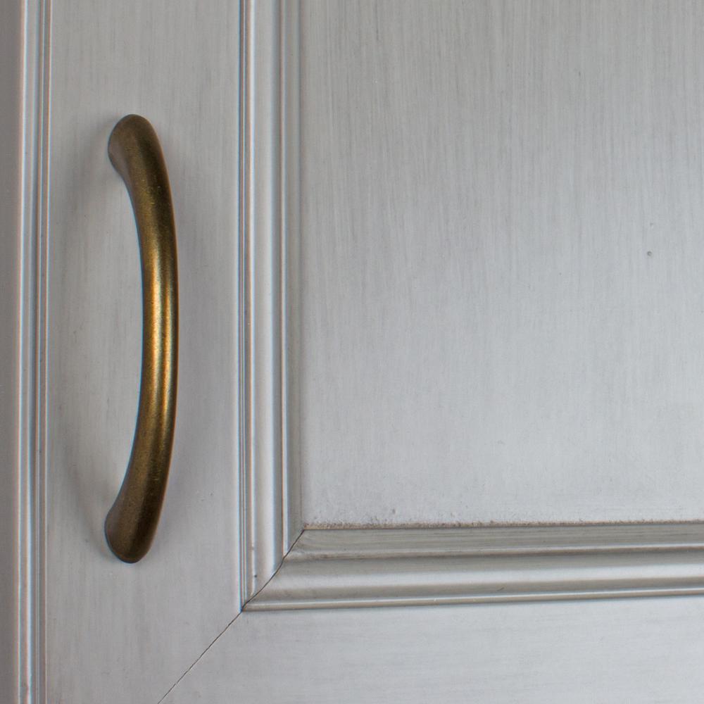 Vintage 1950/'s Antique Brass Cupboard Cabinet Door Drawer Pulls Knobs 2 Pc.