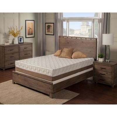 Peony Twin Long 10 in. Memory Foam Mattress