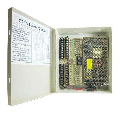 18-Port CCTV Power Supply Box