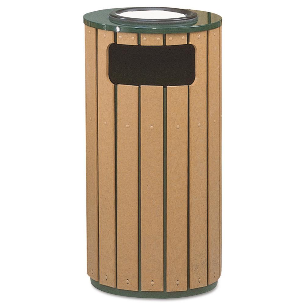 Rubbermaid commercial 12 gal regent 50 ash trash - Commercial bathroom waste receptacles ...