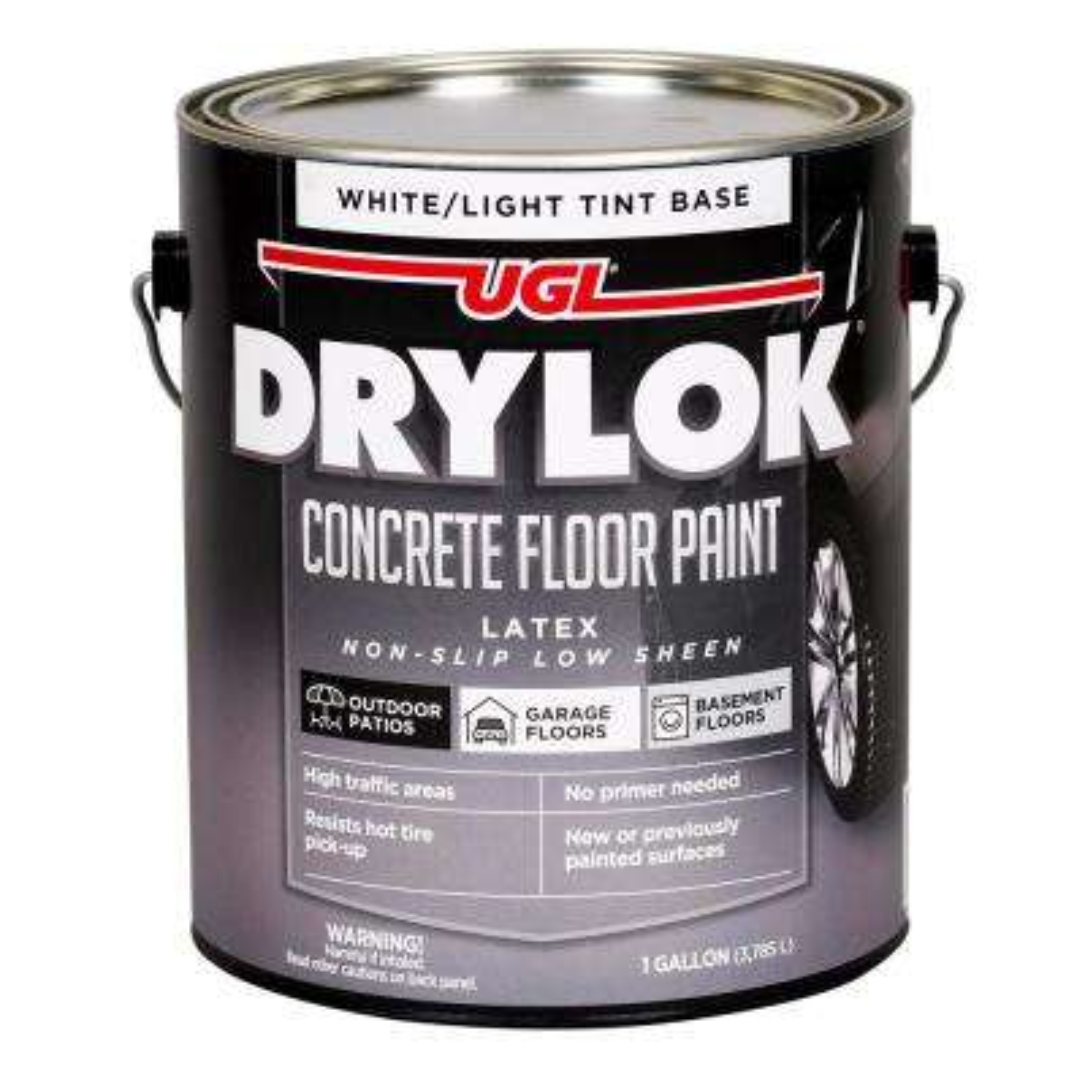 1 gal. White/TB Latex Concrete Floor Paint