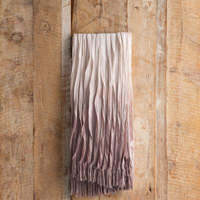 Vivica Mauve Acrylic Throw