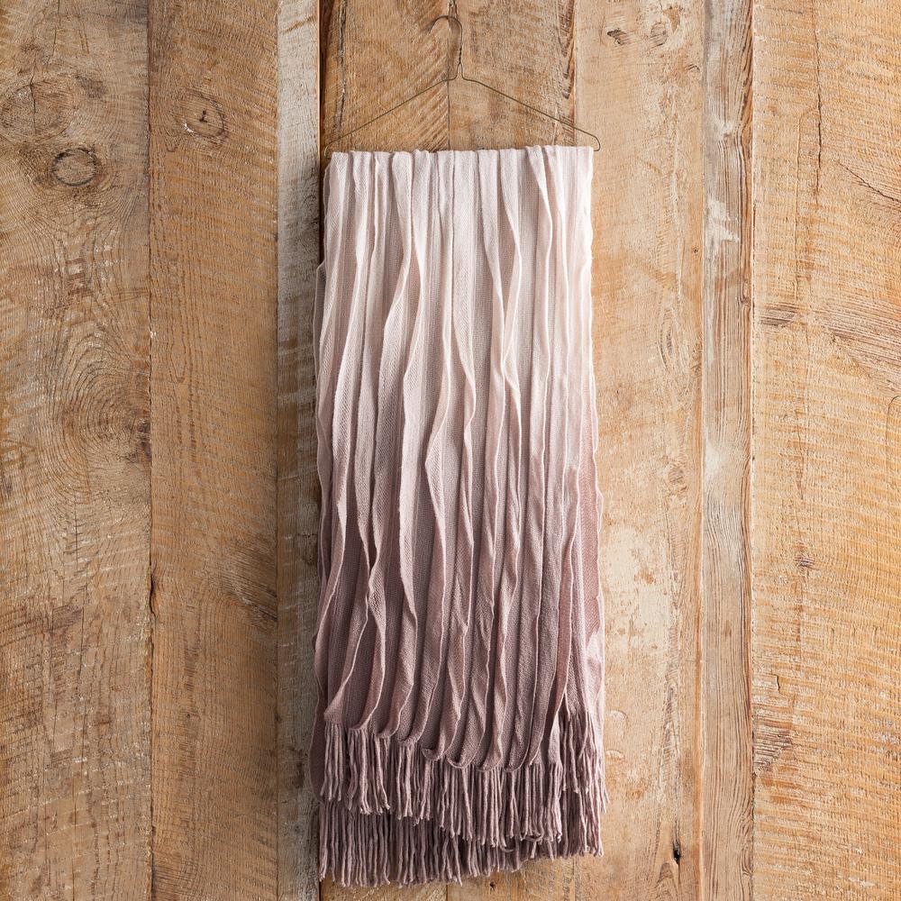 Vivica Mauve Acrylic Throw