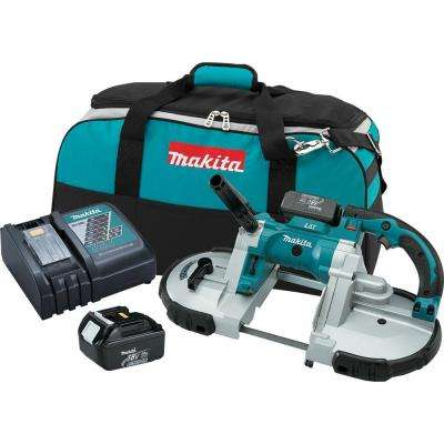 18-Volt LXT Lithium-Ion Cordless Portable Band Saw Kit
