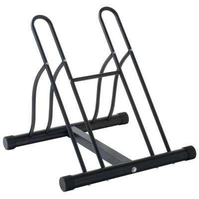 2-Bike Storage Floor Stand