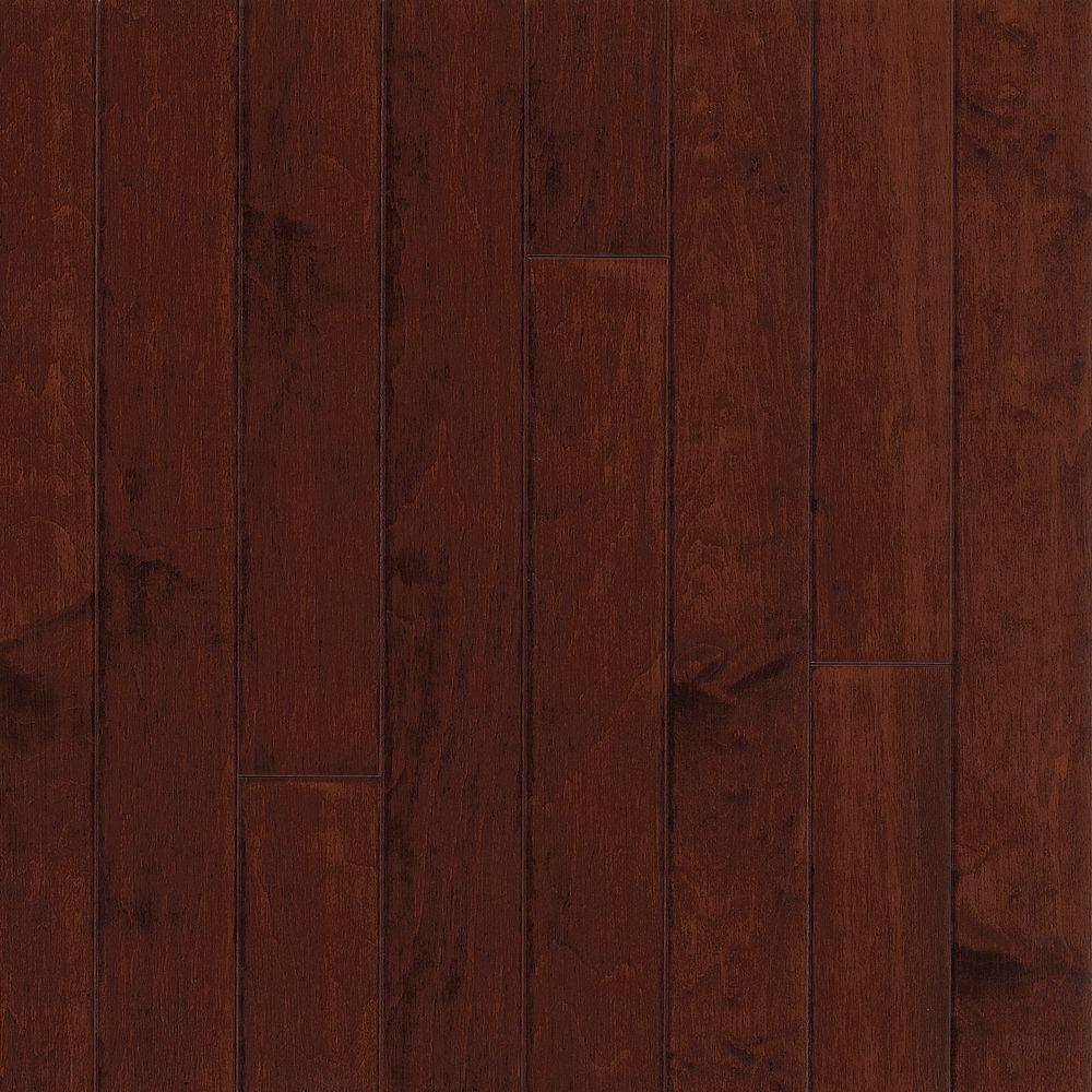 Bruce Town Hall 3/8 in. Thick x 5 in. Wide x Random Length Maple Cherry Engineered Hardwood Flooring (25 sq. ft. / case)