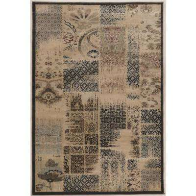 Jewell Collection Vintage Patch Work 5 Ft. X 8 Ft. Area Rug · Linon Home  Decor ...