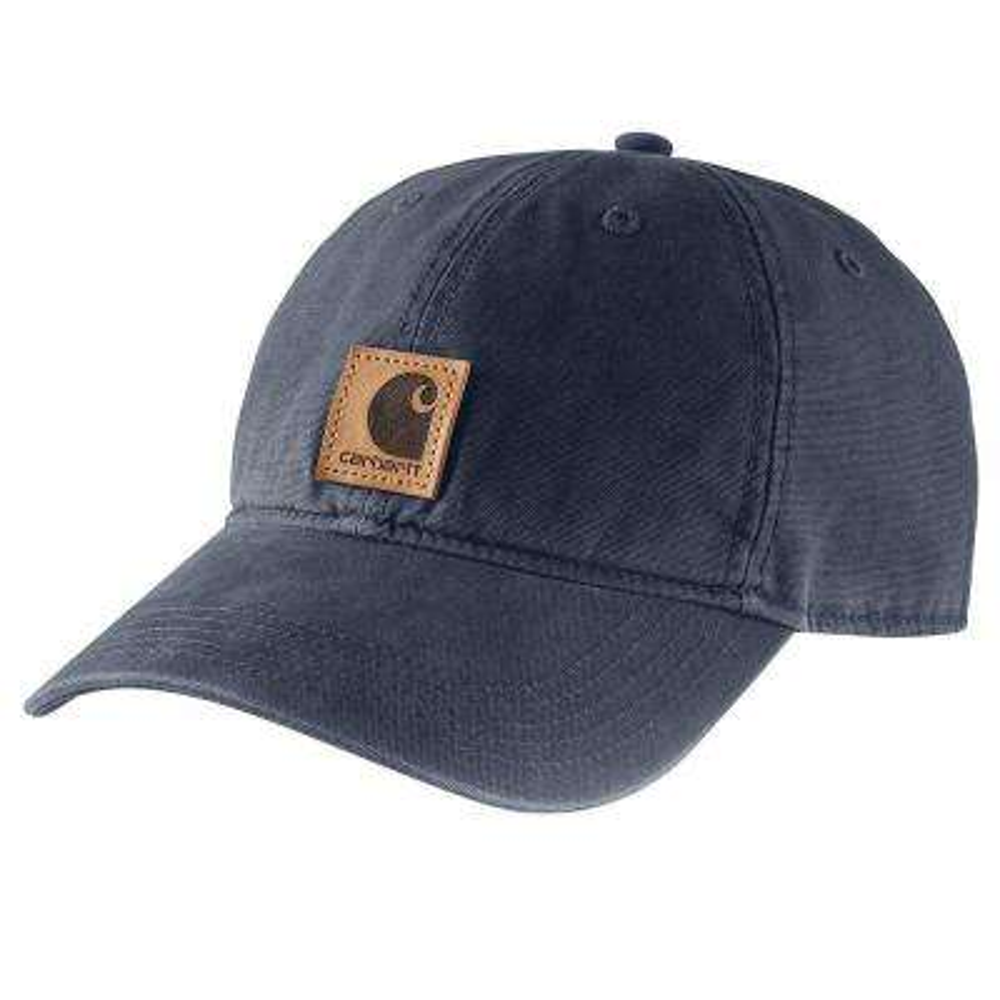 Men's OFA Navy Cotton Cap Headwear