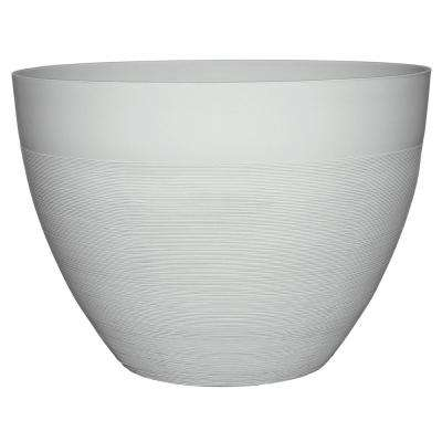 Decatur 20 In Starlight White Resin Planter