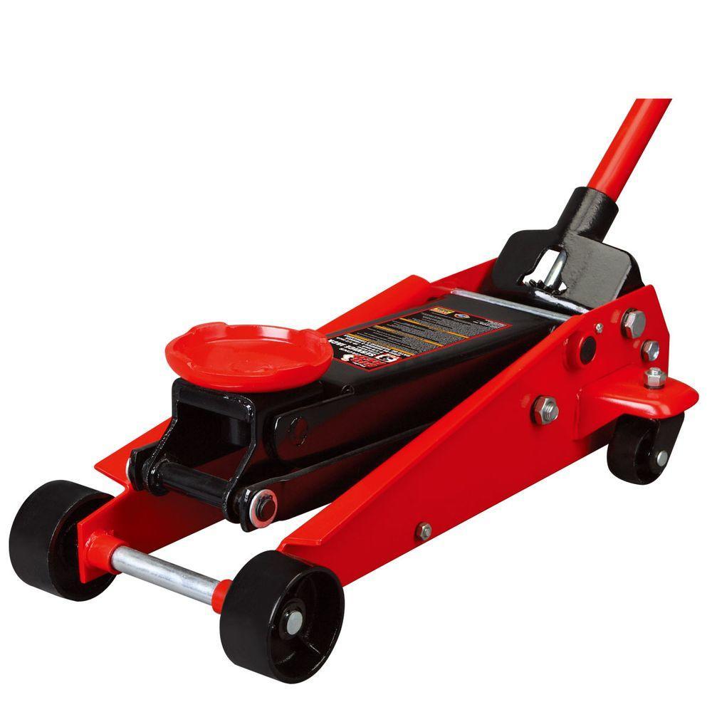 Red 3 Tonne Draper 60977 Heavy Duty Garage Trolley Jack