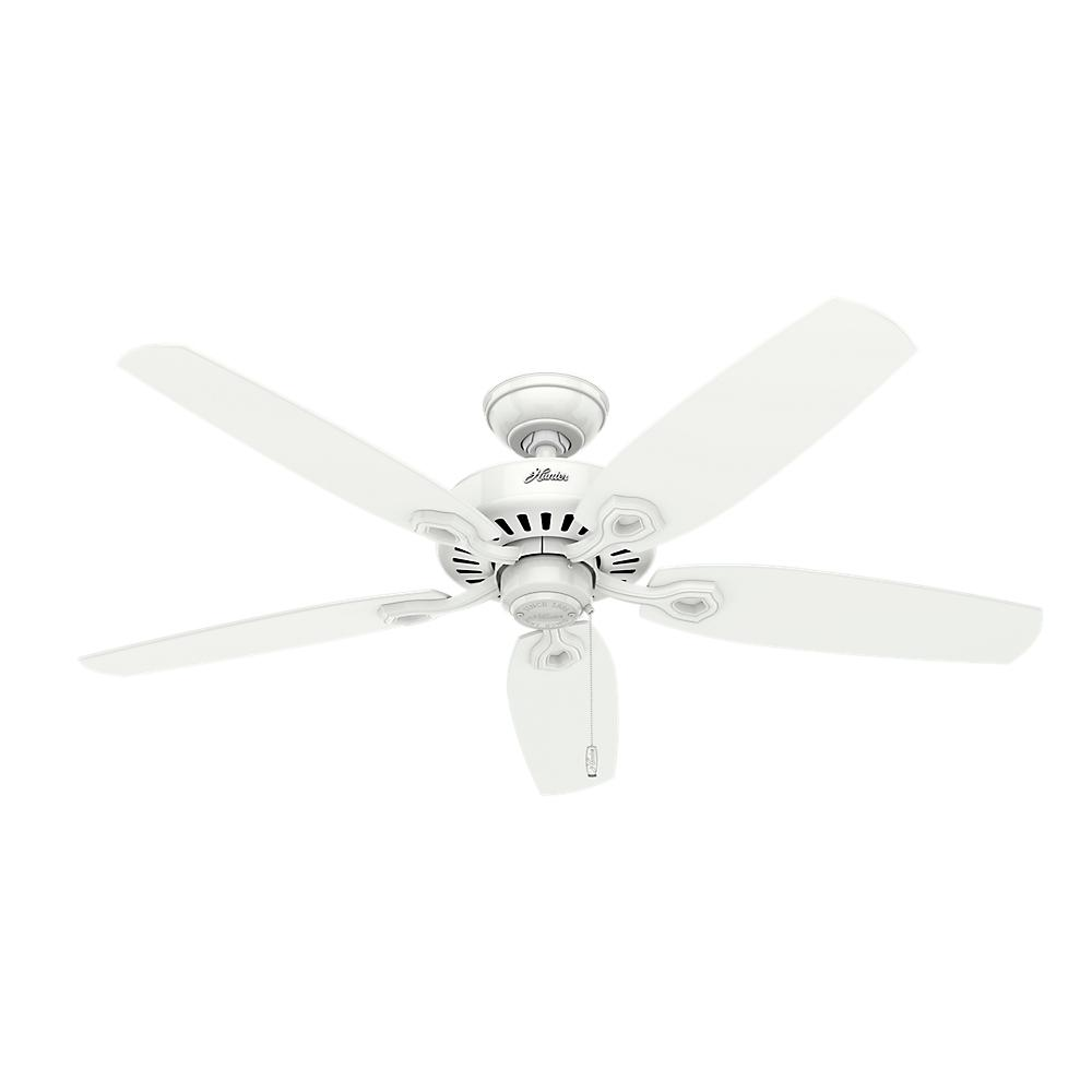Indoor White Ceiling Fan
