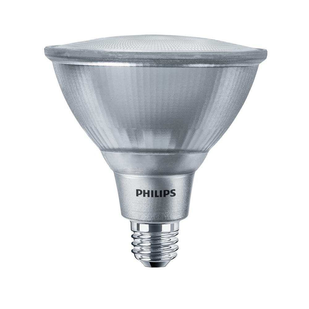 Philips 120 Watt Equivalent Par38 Dimmable Led Energy Star Flood Light Bulb Daylight 5000k