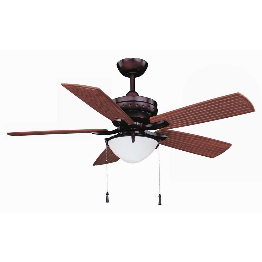 Bronze indooroutdoor wet ceiling fans lighting the home depot led indooroutdoor weathered bronze ceiling fan aloadofball Choice Image