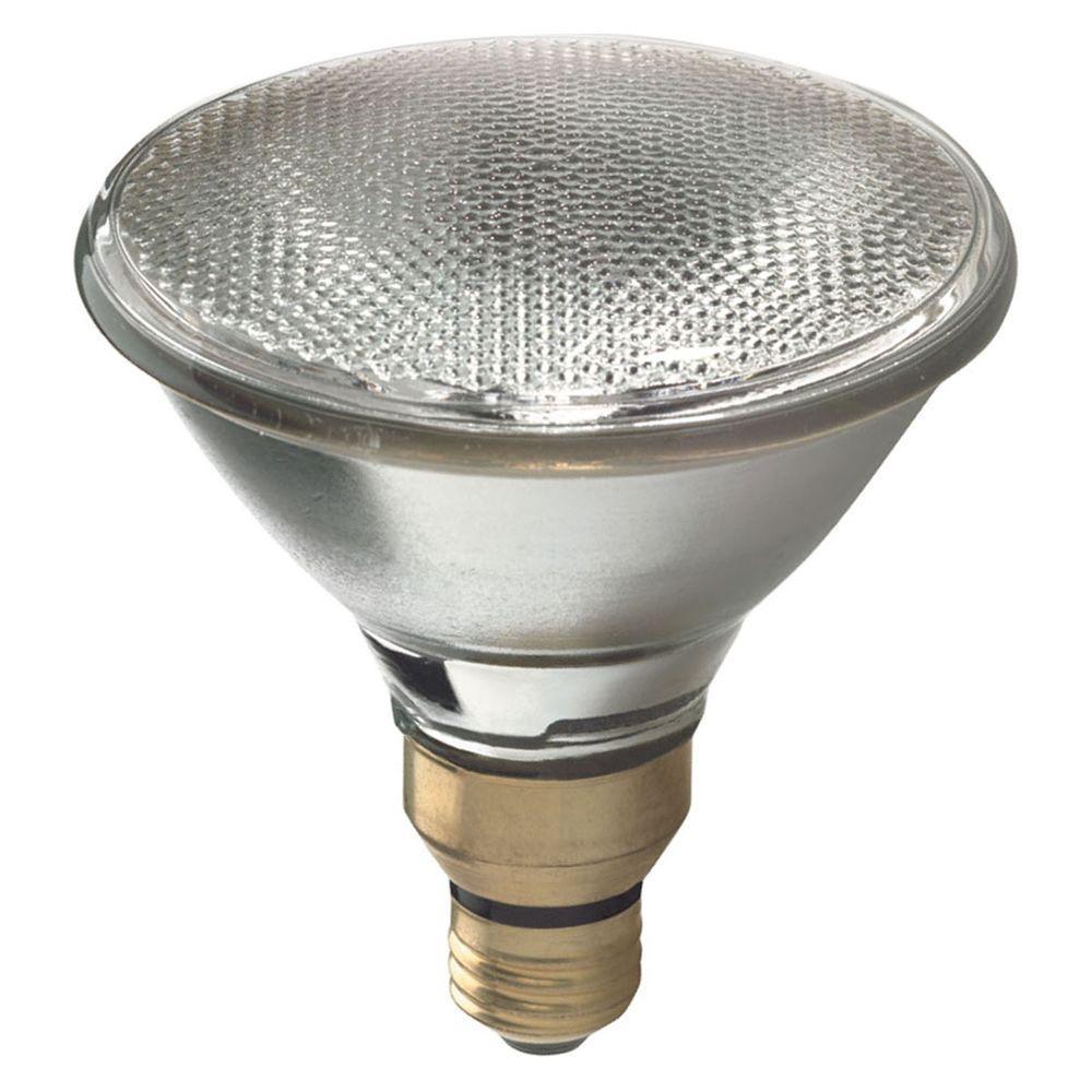 GE 150-Watt Incandescent PAR38 SAF-T-GARD Flood Light Bulb-150PAR ...