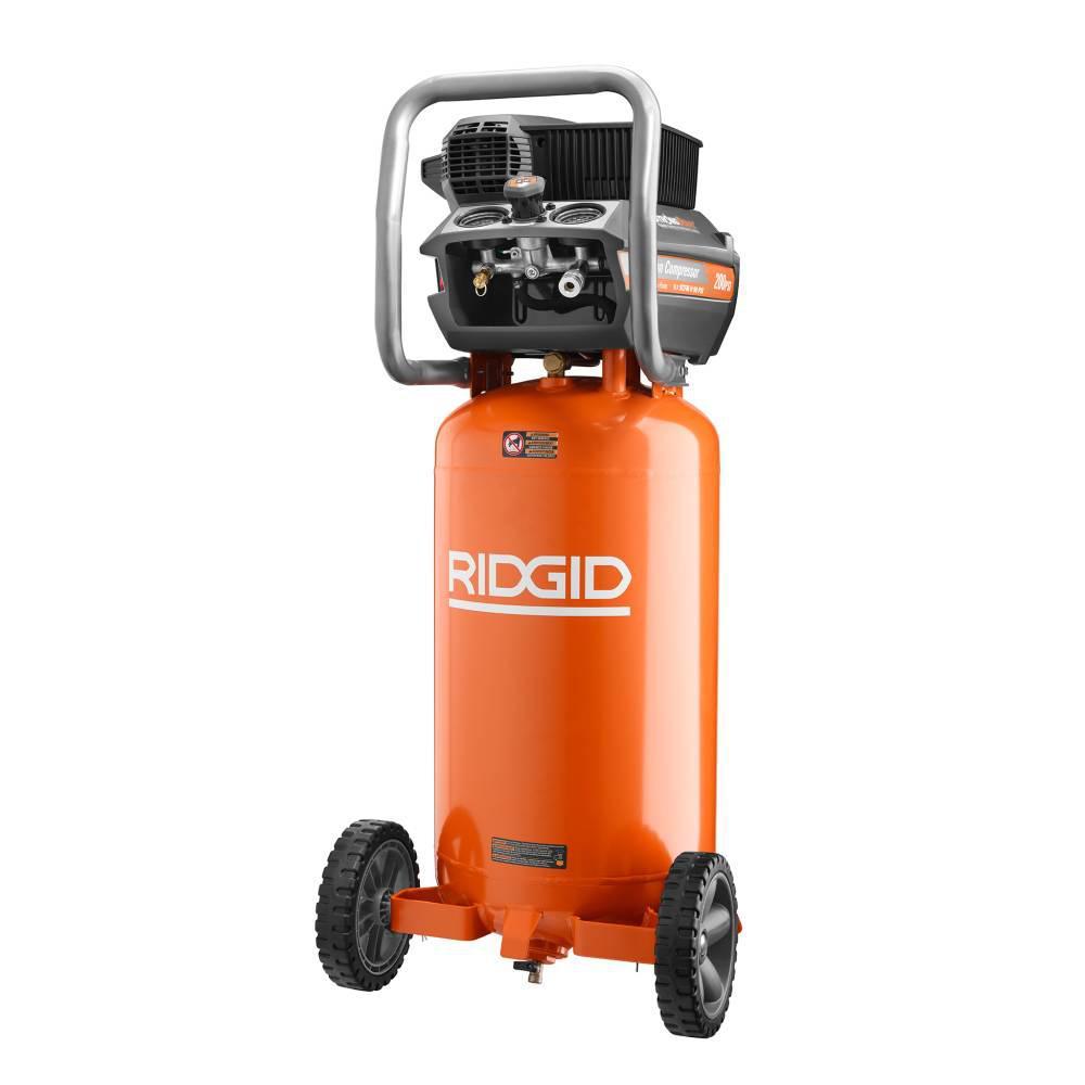 RIDGID 200 PSI 15 Gal. Portable Electric Air Compressor