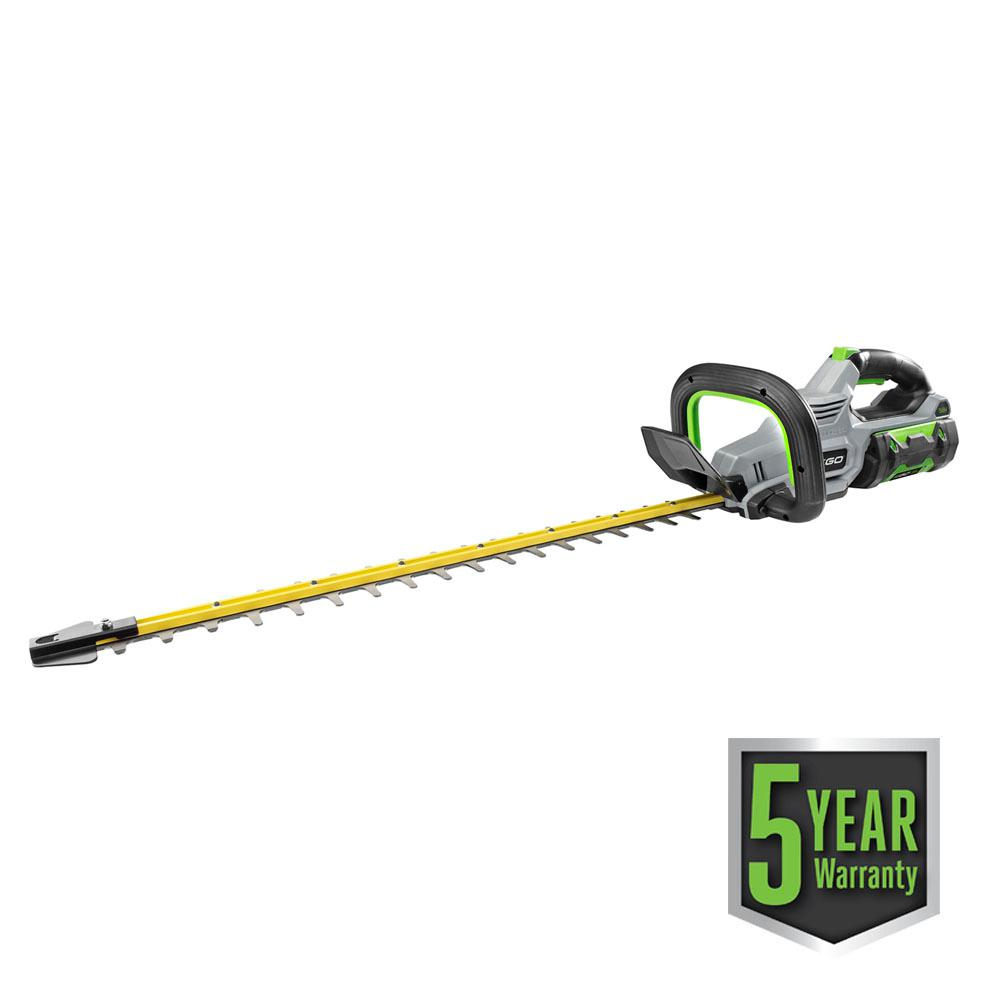 EGO 56-Volt Lithium-ion Cordless 24 in. Brushless Hedge Trimmer Kit (210W Charger, 2.5Ah Battery Included)