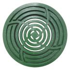 4 in. Round Green Grate