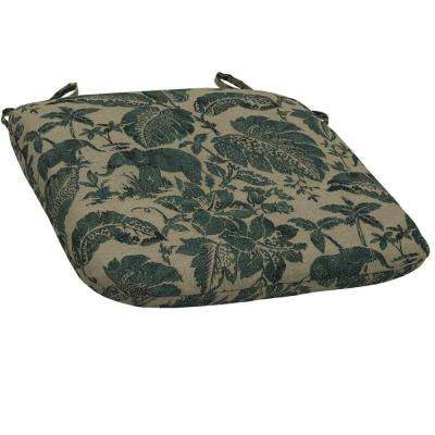 Casablanca Elephant Bistro Outdoor Seat Cushion (Pack of 2)