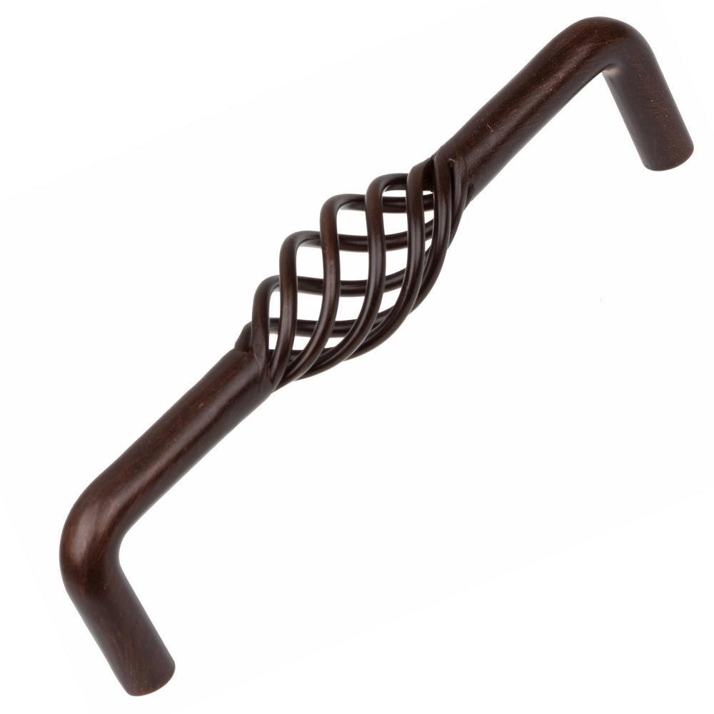 Kitchen Cabinet Upgrade New Knobs Coming Later: GlideRite 5 In. CC Oil Rubbed Bronze Birdcage Cabinet