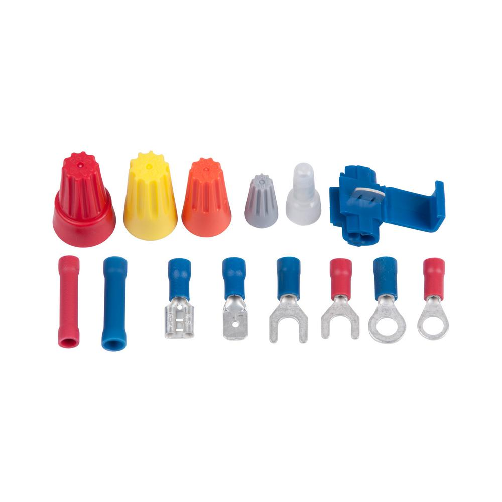 Gardner bender 247 piece terminal and connector kit tk 500 for Gardner products