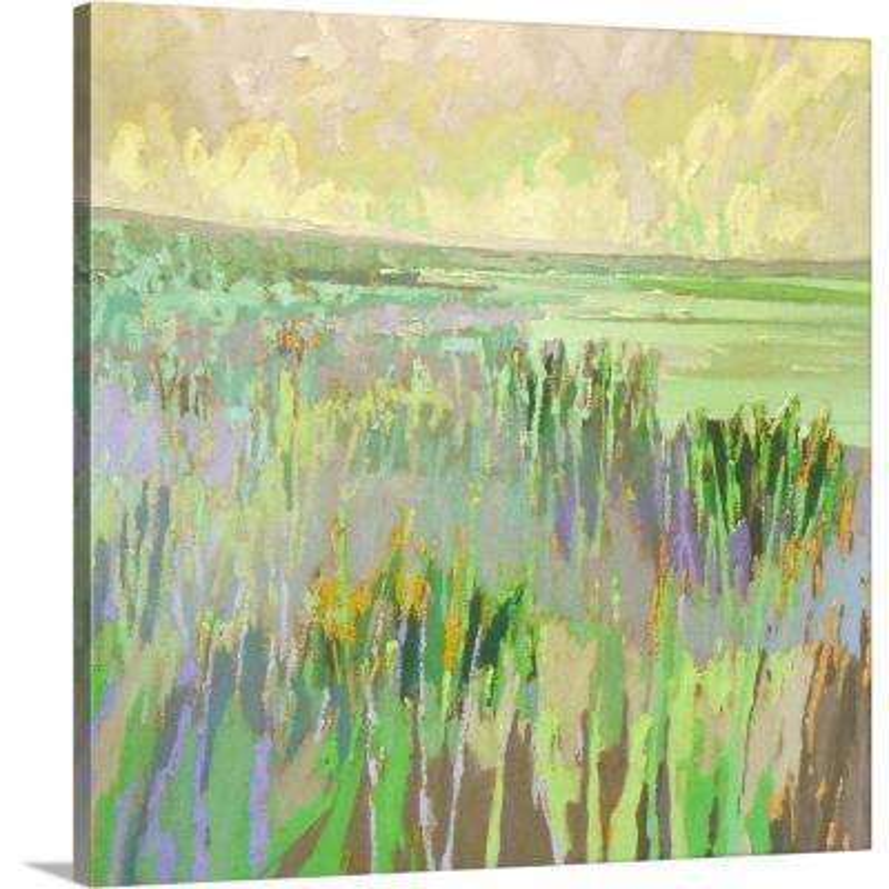 """""""Lake Shore III"""" by  Jane Schmidt Canvas Wall Art"""