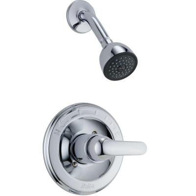 Classic Single-Handle 1-Spray Shower Faucet in Chrome