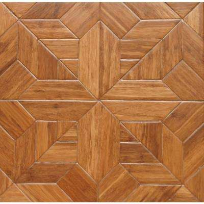 Salon 9/16 in. Thick x 15.75 in. Width x 15.75 in. Length Engineered Parquet Hardwood Flooring (17.22 sq. ft. / case)