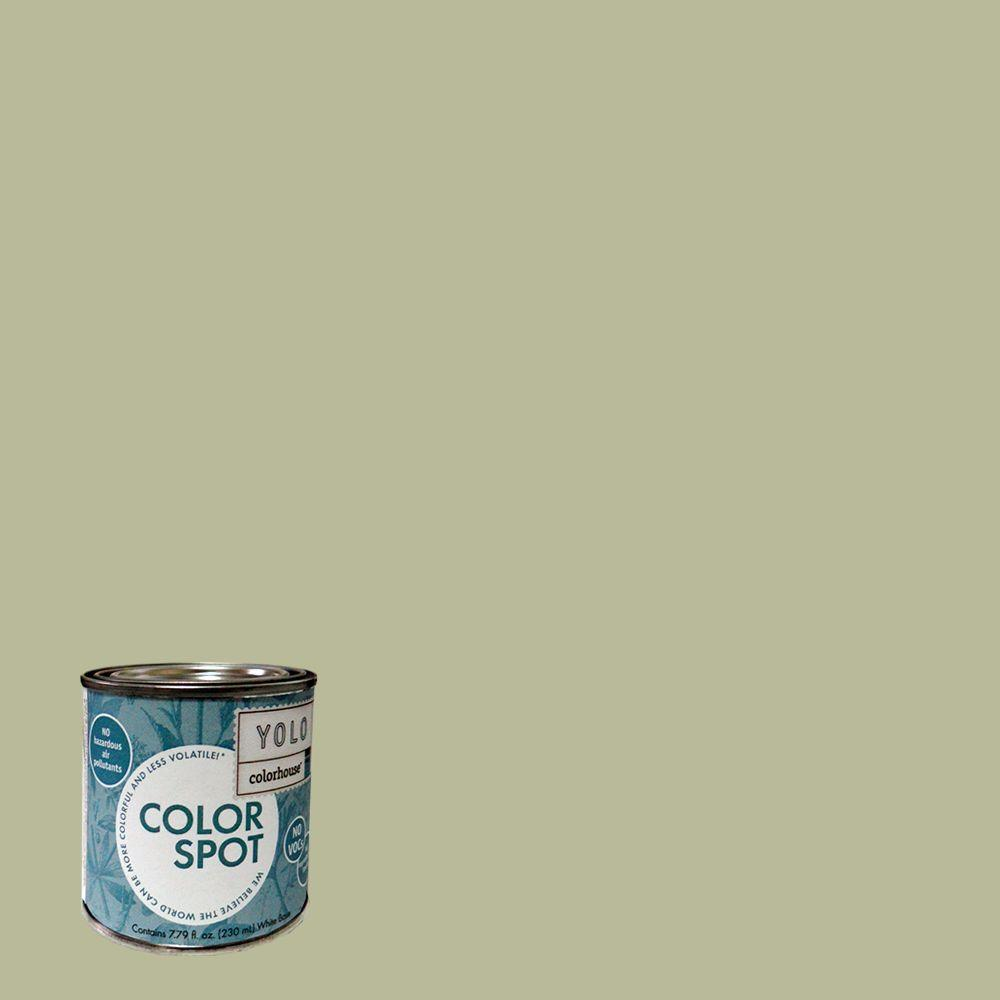 YOLO Colorhouse 8 oz. Glass .03 ColorSpot Eggshell Interior Paint Sample-DISCONTINUED