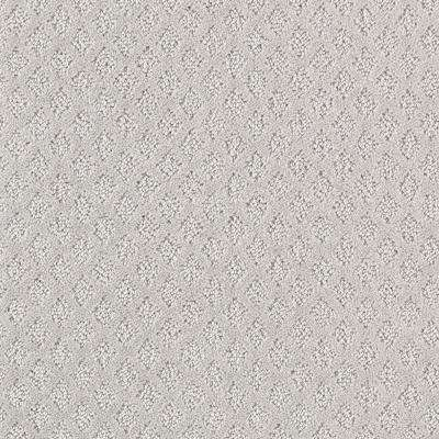 8 in. x 8 in. Textured Carpet Sample - Bradlow - Color Liquid Metal