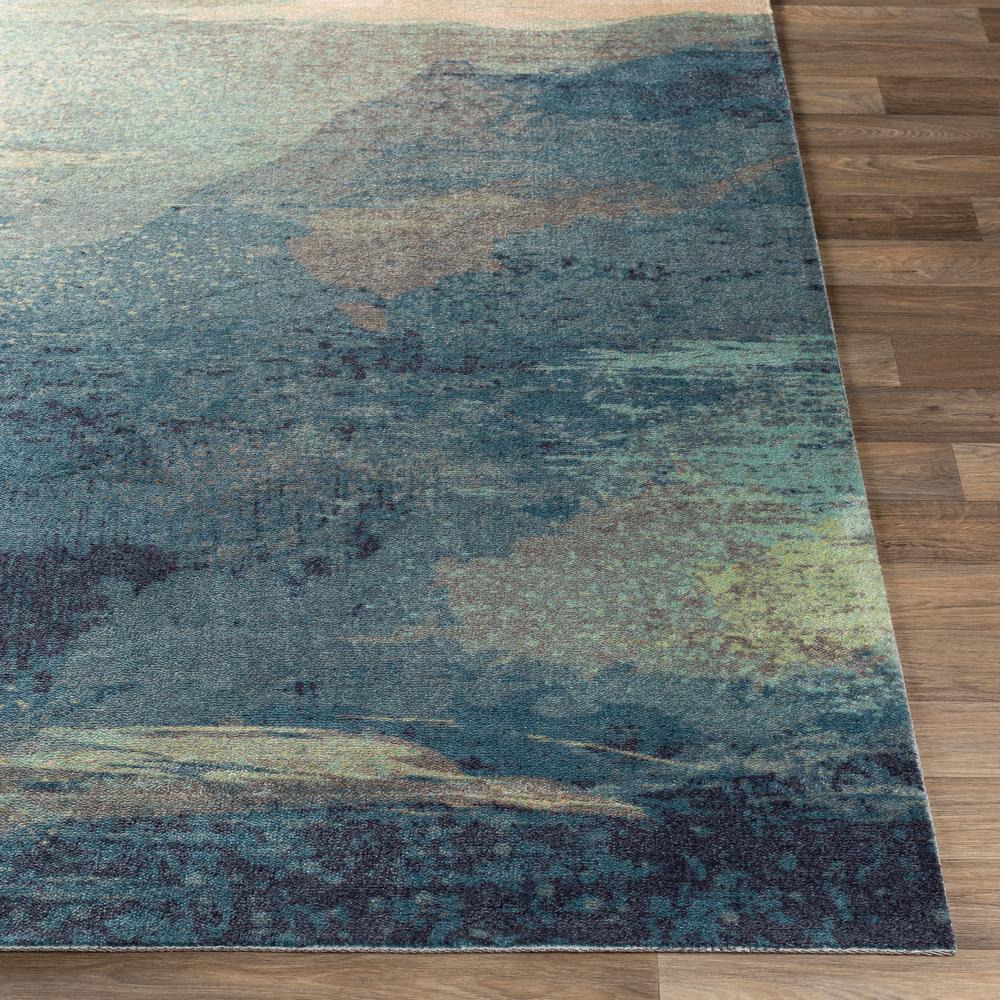 Alikka Sky Blue 8 ft. x 10 ft. Indoor Area Rug