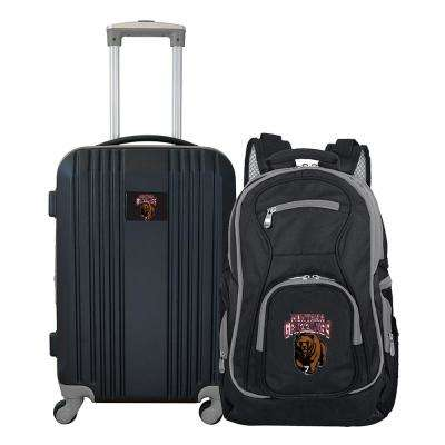 NCAA Montana Grizzlies 2-Piece Set Luggage and Backpack
