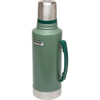 Classic 2-Quart Vacuum Bottle, Hammertone Green